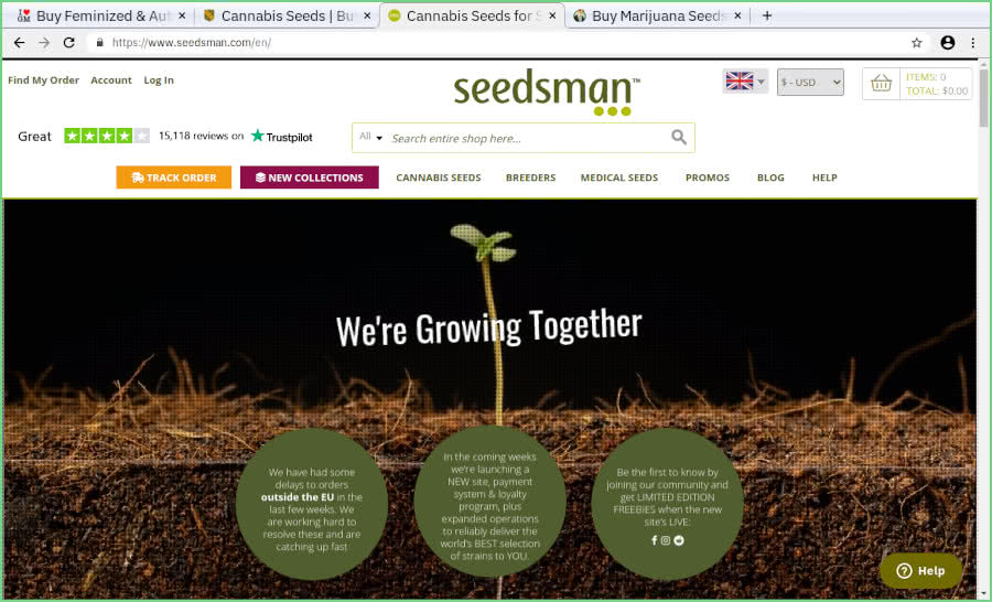 Seedsman Review